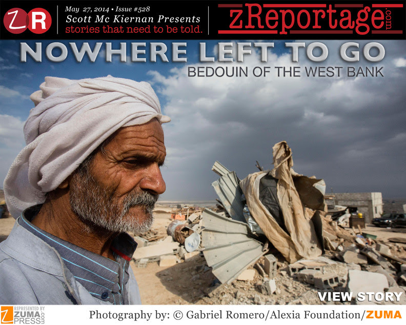 Nowhere Left To Go: Bedouin of the West Bank. By Gabriel Romero.