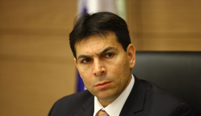 Deputy Defense Minister Danny Danon. Photo by Michal Fattal.