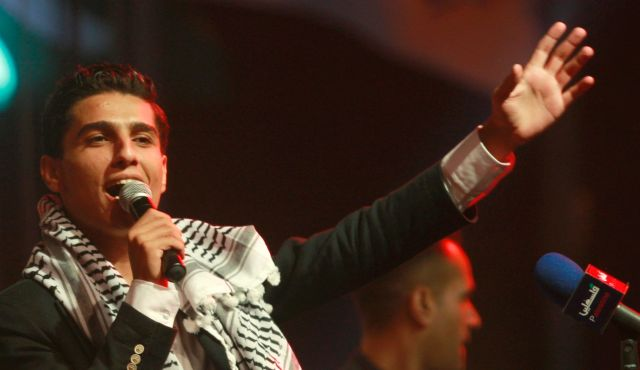 'Arab Idol' winner Mohammed Assaf. Photo by AP.