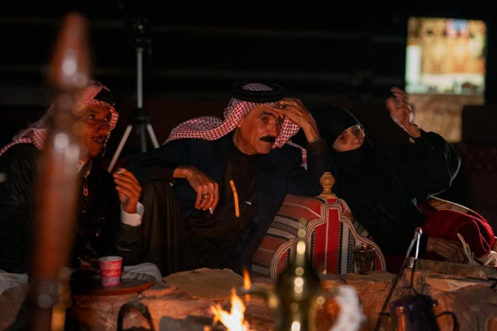 Gathering of Bedouin in Jordan. (Photo: Stamos Abatis for CCP
