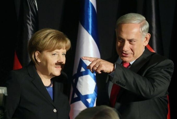 German Chancellor Angela Merkel with Israeli Prime Minister Benjamin Netanyahu. (Photo: File)