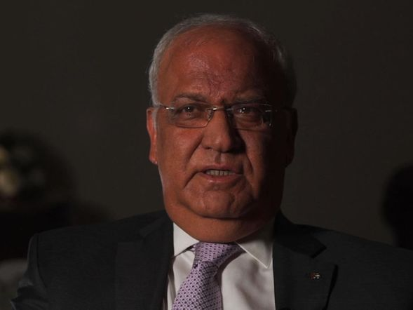 Saeb Erekat says the bulldozing is ethnic cleansing